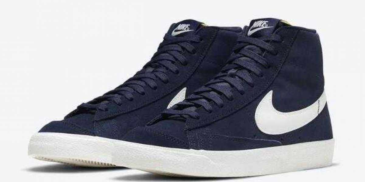 Will You Cop the New Nike Blazer Mid Navy Suede ?