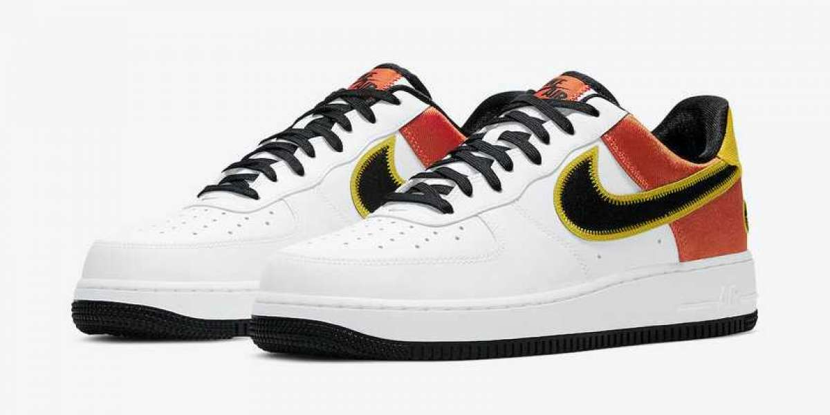 """CU8070-100 Nike Air Force 1 """"Raygun"""" Will Be Released Soon"""