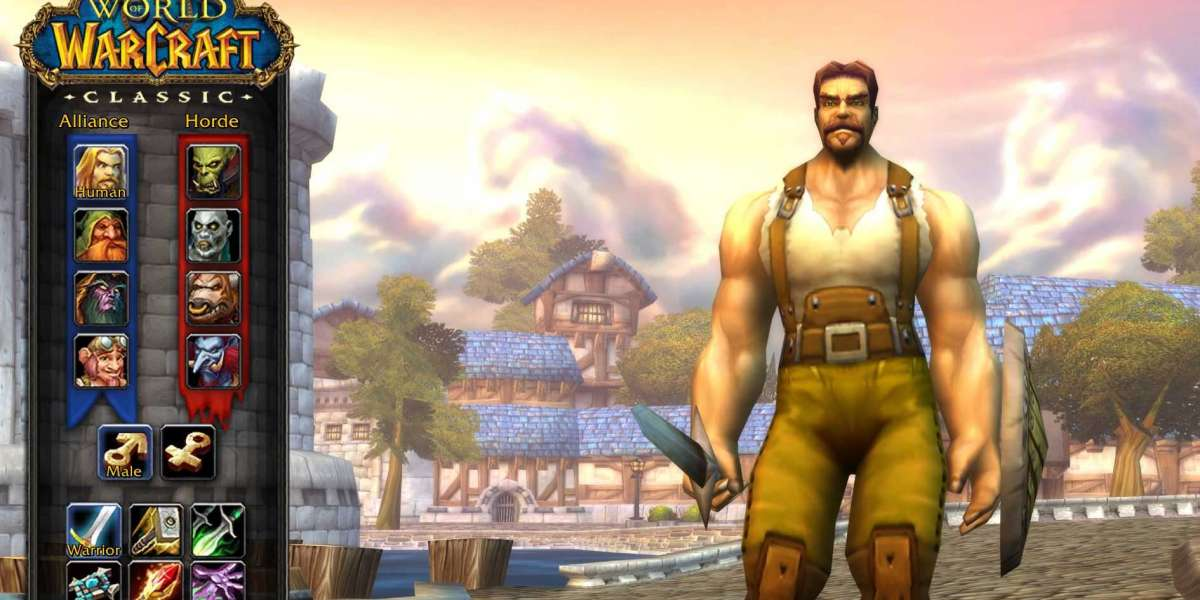 The World of Warcraft: Classic enjoy is quite barren on the floor