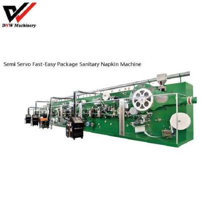 Semi Servo Fast-easy Package Sanitary Napkin Production Line Profile Picture